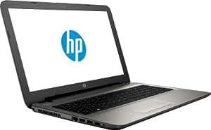 HP 15-AF006AX 15.6-inch Laptop (AMD A8-7410/4GB/500GB/2GB Graphics/DOS), Turbo Silver