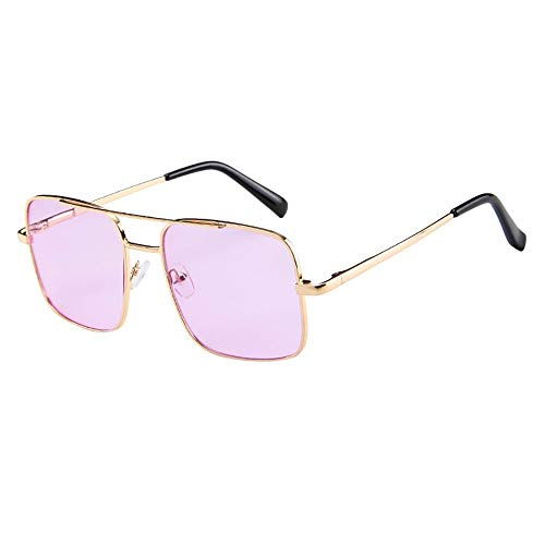 FIRSS Sonnenbrille Metal Glasses Frame Brille Damen Vintage Rechteck unterschiedliche Farben...