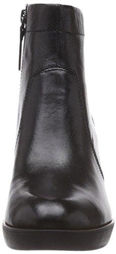 Tamaris 25360, Stivali classici imbottiti a gamba corta donna Nero (Nero (Black 001))