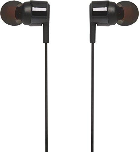 Image of JBL T210 In-Ear Kopfhörer Ohrhörer mit 1-Tasten-Fernbedienung und Integriertem Mikrofon Kompatibel mit Apple und Android Geräten - Schwarz