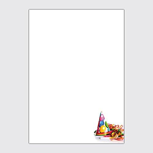 """Werbeplakat """"Karneval / Fasching - Luftschlangen"""" in der Größe DIN A3"""