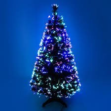 Mercer Leisure 3ft Green Indoor Pre-Lighted Artificial Spectrum Fibre Optic Christmas Tree by Mercer Leisure