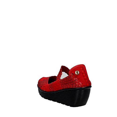 Pregunta PCAKELLY-004 Sneakers Femme Rouge
