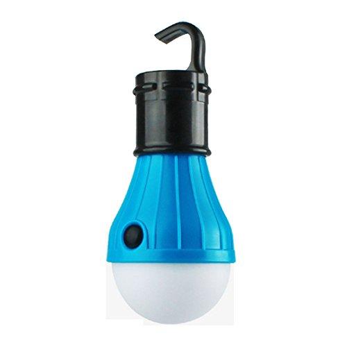Milya LED Campinglampe Zeltlampe wasserdicht Nachttischlampe Schrankleuchte mit Hakenhalterung für komfortable Befestigung Multi...
