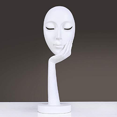 LYDM Moderne Einfache Statuen-skulpturen, Moderneen Minimalistischen Abstrakten Harz Skulptur,Für Décoration De La Maison Wohnzimmer Office Schlafzimmer