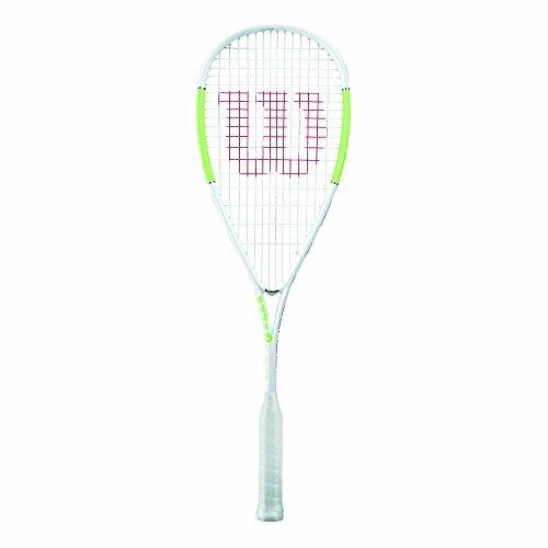Preisvergleich Produktbild Wilson Squash-Schläger,  Blade Ultra Light,  Unisex,  Kopflastige Balance,  Weiß / Grün,  WRT916530