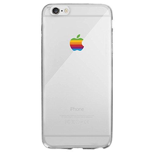 Galleria fotografica Coque trompe l'oeil Logo Apple Vintage pour iPhone 6/6s (4,7)