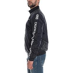 Calvin Klein Jeans Side Logo Veste légère CK Black