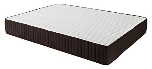 Dormio Esmeralda - Colchón ViscoSoft reversible, 160 x 200 x 24 cm, color blanco (Todas las medidas)