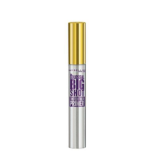 Maybelline Big Shot Primer, Mascara-Primer, boostet, verdichtet und verlängert die Wimpern optisch dank Mikrofasern, mit schwarzen Farbpigmenten für ein noch intensiveres Schwarz, 8 ml (Mascara-base)
