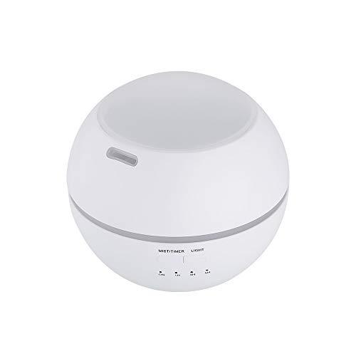 ETH Máquina De Aromaterapia Ligera Y De Sombra Humidificador Creativo Lámpara De Fragancia Hogar Aceite Esencial Esparcidor Elegante (Color : White)