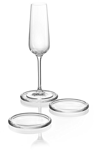 ritzenhoff-breker-fresh-glass-coasters-round-10-cm-set-of-6-transparent-drinks-coaster-for-table-and