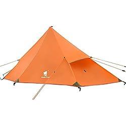 GEERTOP Tenda da Viaggio Piramidale Ultraleggera