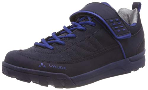 Vaude Unisex-Erwachsene Moab Low AM Mountainbike Schuhe, Blau (Eclipse 750), 41 EU
