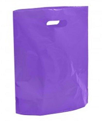40-purple-plastic-bags-boutique-retail-gift-shop-carrier-bag-23cm-x-31cm