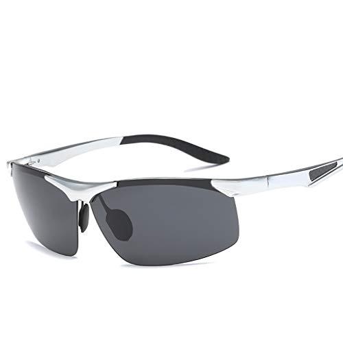 YHDD Herren polarisierte Sonnenbrille Aluminium Magnesium Metallrahmen ultraleichte Sport Sonnenbrille Fahrrad Outdoor Reitbrille (Farbe : #2)