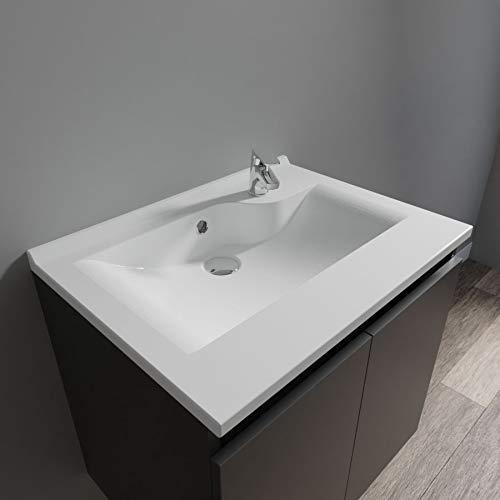 UneSalleDeBain Plan Simple Vasque Prof 46 RÉSILOGE - 60 cm