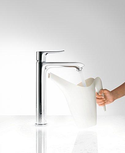 Hansgrohe – Einhebelarmatur, Waschtisch, ohne Ablaufgarnitur, ComfortZone 200, Chrom, Serie Metris - 5