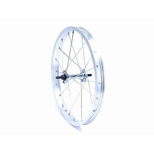 Arkus Bicycles 16 Zoll Vorderfelge Alu Vorderrad 20 Loch, mit Muttern, Joytec Stahlnabe