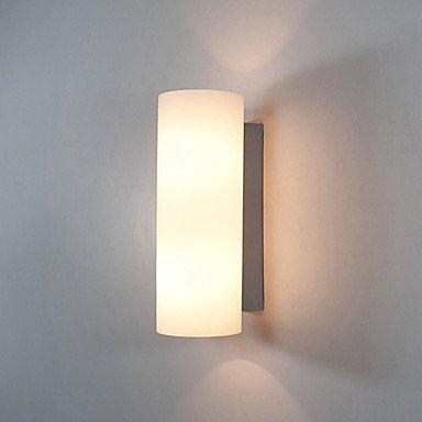 Colonna design lampada da parete, 2Luce, Moderno Crema Bianco Ferro