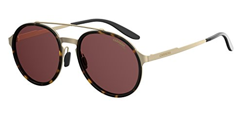 Carrera Herren 140/S W6 Sonnenbrille, Gold (MTGD PD HVNA/BURG PZ AR), 53