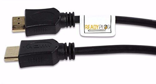 ReadyPlug HDMI Cable for: Panasonic 5.1 Channel Home Theater System with 1080p up-Convert SC-XH105 (Black, 25 Feet)