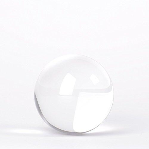 Originaler Lensball Pocket 60mm Durchmesser, Glas Klare K9 Kristall Kugel Mit Mikrofaser Beutel Zum Tragen Und Säubern, Fotografie Zubehör
