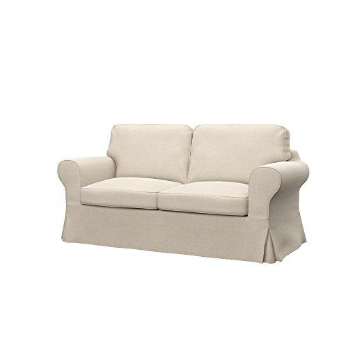 Ektorp Sofa (Soferia - IKEA EKTORP 2er-Sofa Bezug, Elegance Creme)