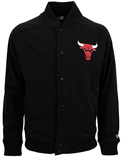 A New ERA Herren NBA Core Jersey Varsity JKT Chibul Jacket schwarz XL