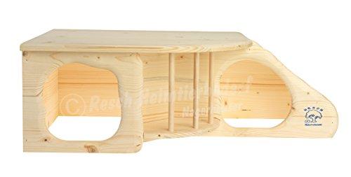"""Resch Nr. 11 """"Nagerhöhle XL"""" naturbelassenes Massivholz aus Fichte - 3"""