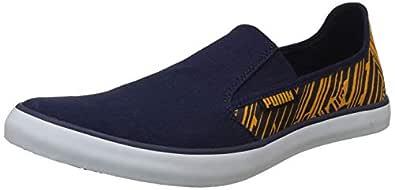 Puma Men's Peacoat-Zinnia White Sneakers-10 UK/India (44.5 EU) (4059507766380)