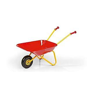 31r3H68IeKL. SS300  - Rolly Toys 270804 - Carretilla de metal de juguete, color rojo
