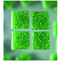 efco MosaixPro-bloques de vidrio, 20 x 20 mm, 200 G~72 pcs verde