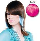 Balmain Echthaar Color Strähnen, 40 cm, glattt, barbie pink, 10 Stück