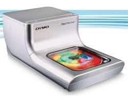 DYMO DiscPainter Imprimante CD/DVD couleur jet d'encre CD (120 mm) jusqu'à 2 disques/min (couleur) USB