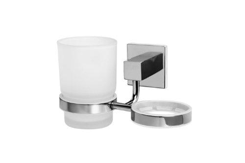 bisk-arktic-01466-2-gobelets-en-verre-givre-avec-double-porte-gobelet-finition-chrome-15-x-88-x-95-c