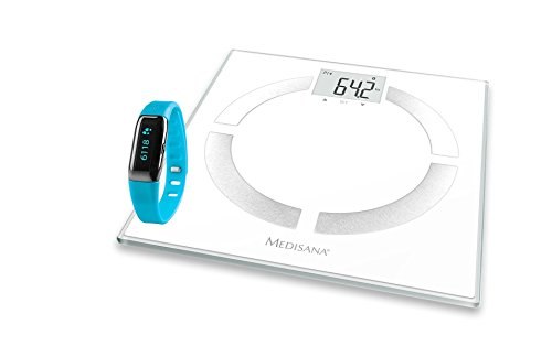 Medisana Connect Körper-Analyse-Waage und Activity Tracker