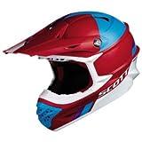Scott 350 Pro Trophy MX Enduro Motorrad / Bike Helm rot/blau 2015: Größe: XXL (63-64cm)