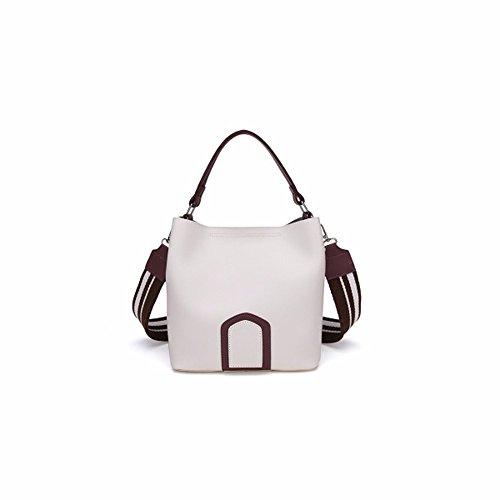 Luxus Marke Designer Messenger Bags Frauen 2017 breites Armband PU Leder Handtasche Damen Mode Umhängetaschen weiblichen Bolsa Feminina, Beige (Luxus Messenger Bag)