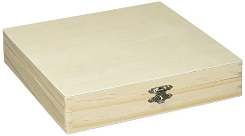 Darice Holz unlackiert Zigarre box-8.25-inch X 20,7x - Box Holz Handwerk Unfinished