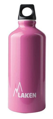 Botella Futura de Laken con tapón de rosca, boca estrecha 0,6 L Rosa