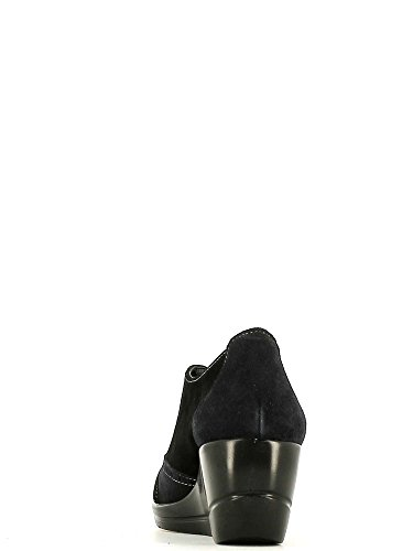 GRACE SHOES 525 Francesina Donna Nero