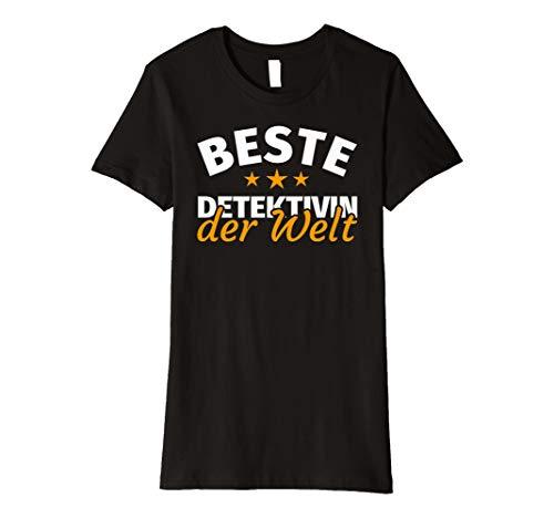 Damen Detektivin Geschenk - Lustiger Spruch T-Shirt