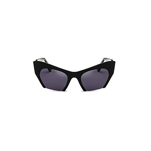 WJFDSGYG Semi-Randlose Sonnenbrille Frauen Designer Klare Linse Sonnenbrille Für Frauen Mode Sonnenbrille