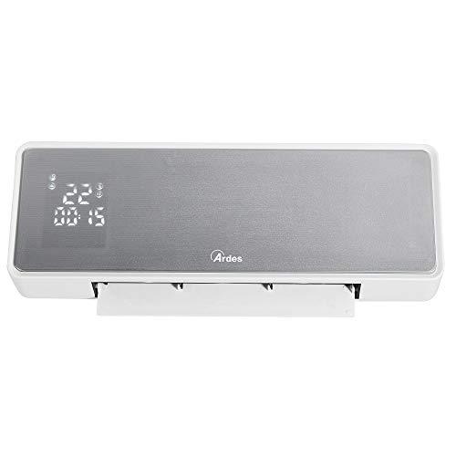 Ardes AR4W07P Screen - Termoventilador cerámico de pared, pantalla LED con temperatura y programador...
