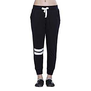 Alan Jones Solid Sports Trim Women's Track Pants