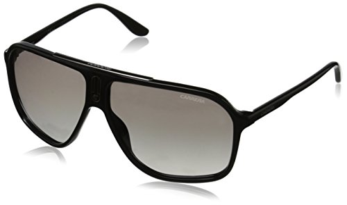 Carrera 6016/s ic occhiali da sole, nero (shiny black), 62 unisex-adulto