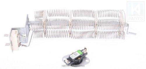 LA-1044 Dryer Heating Element for Magic Chef LA1044 240v 4750w w/l 248oF L120oC t-stat by Napco