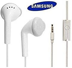 Samsung Compatible Dolby Sound YS EHS61ASFWEC Earphone in Ear Earphone for Redmi Oppo Vivo and All Mobiles (White) by VAS Premium