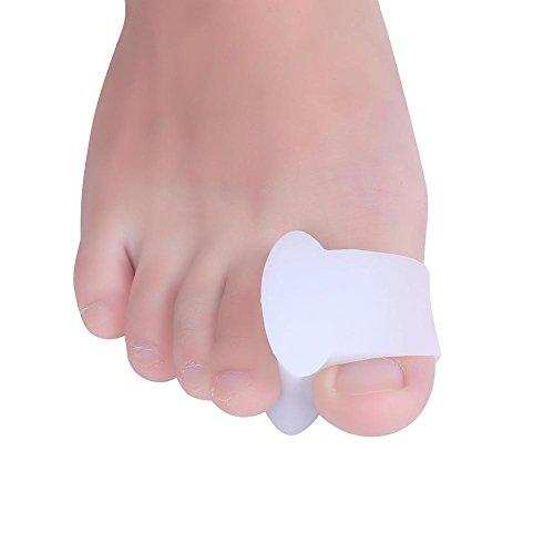 Silikon Gel Bunion Protector Toe Straightener Separator Ausrichtung Schmerzlinderung Bunion Entlastung und Arbeit als Bunion Splint Fußpflege (Pediküre-zehen-separatoren)